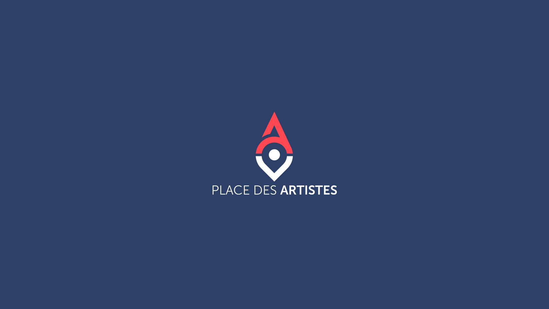 Identité visuelle, motion design pour Place des Artistes