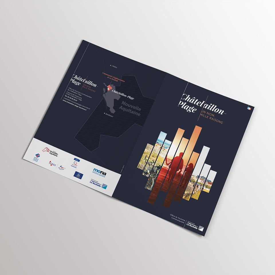 Couverture brochure touristique de Châtelaillon-Plage