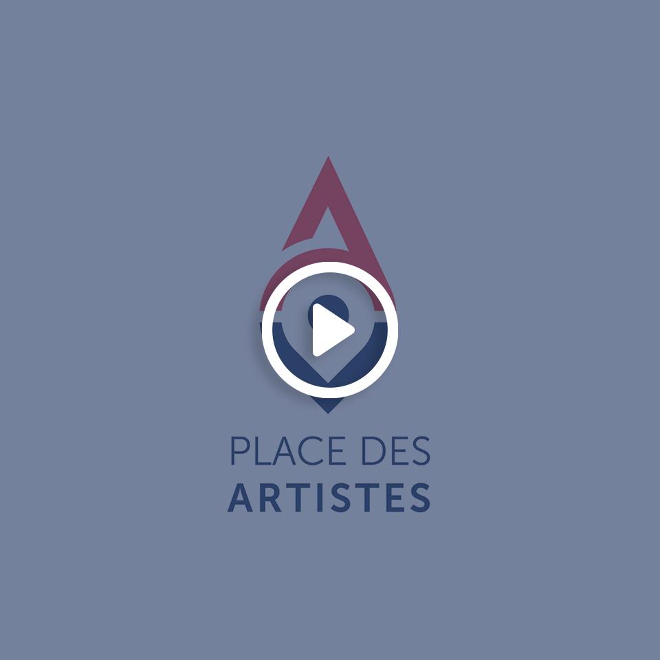 Vidéo motion design pour la Place des Artistes
