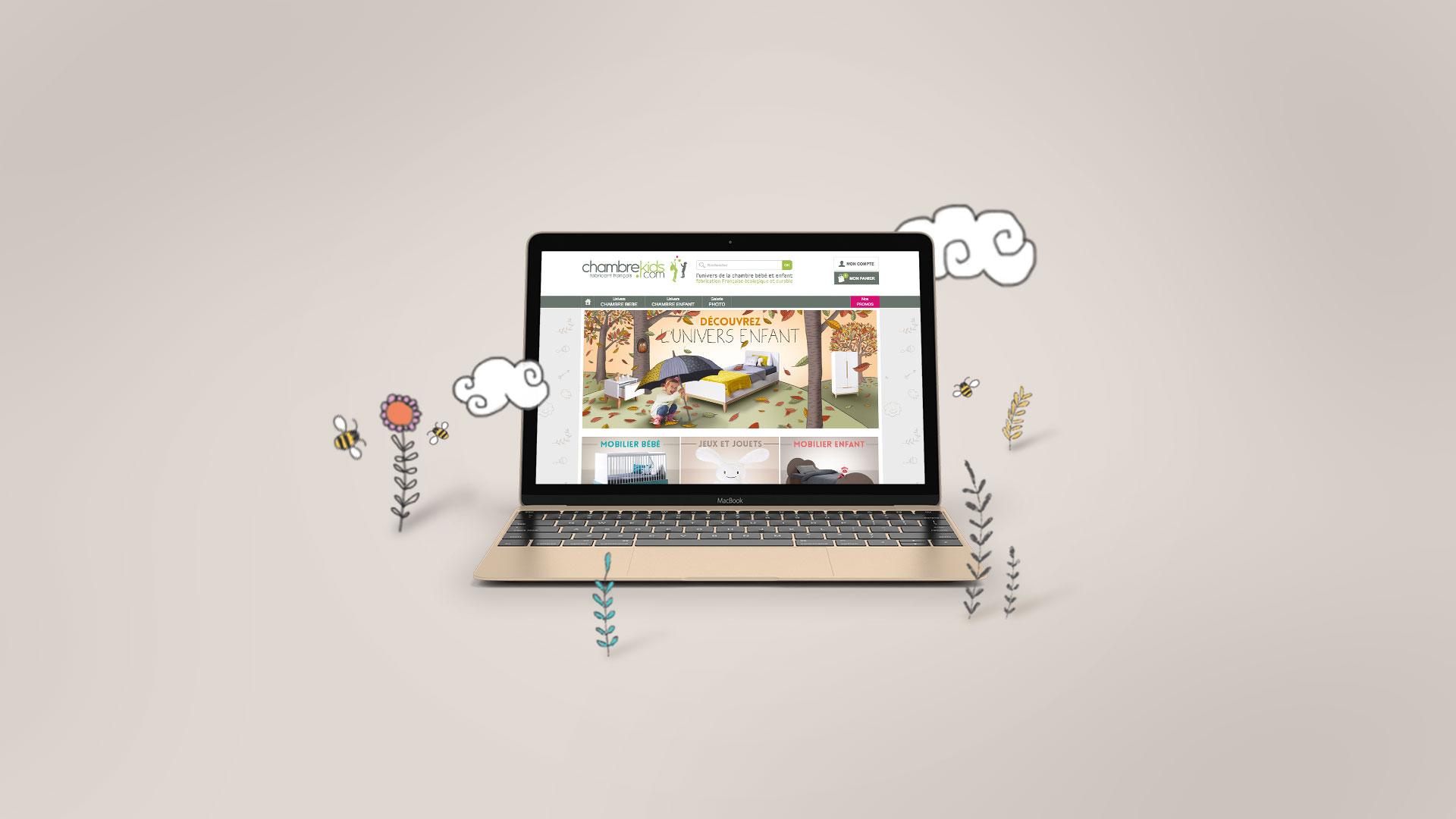 Conception d'outils promotionnels web pour ChambreKids