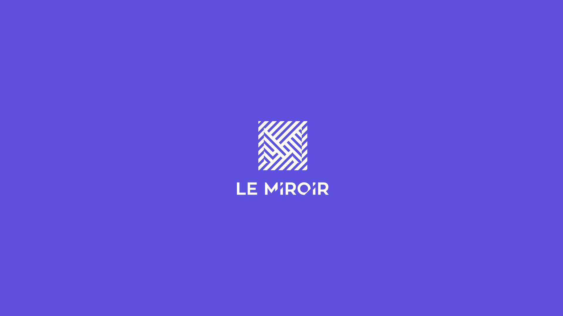 Proposition d'une identité visuelle pour Le Miroir Poitiers