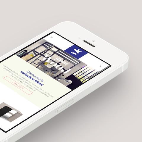 Site Idkids responsive design