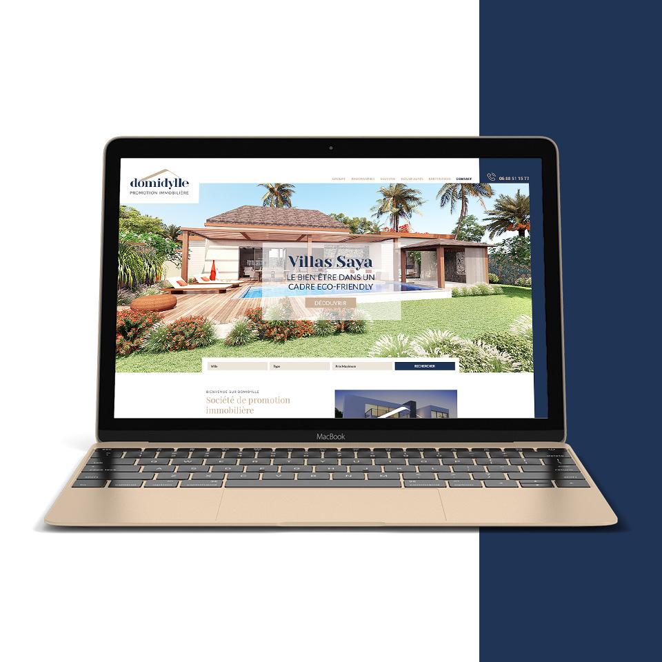 Design site Villa SAYA